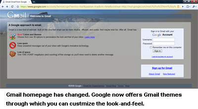 Gmail Themes - customize your Gmail account