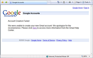 Get Gmail email address for free