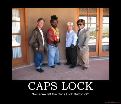 A-Team - Caps Lock off