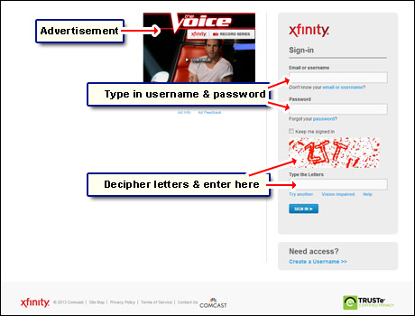 comcast webmail sign in at your email account