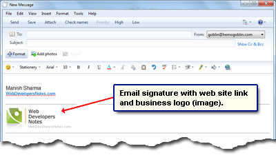 Email signature tips for all users