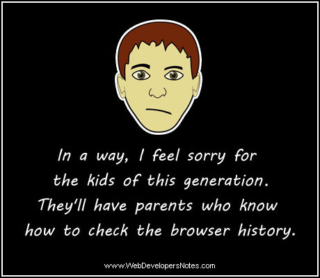 In a way, I feel sorry for the kids of this generation...