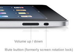 how to put he button on screen for ipad