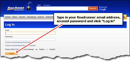 how to set up roadrunner email on mac