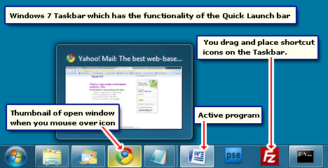 Windows 7 Quick Launch Toolbar Missing