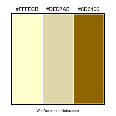 Brown color combination #105