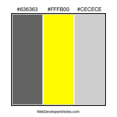 Web site colour combination #33