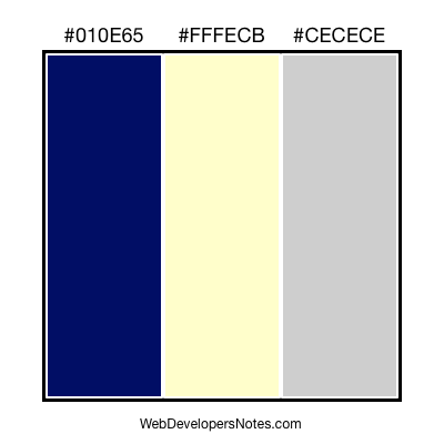 Web site colour combination #35