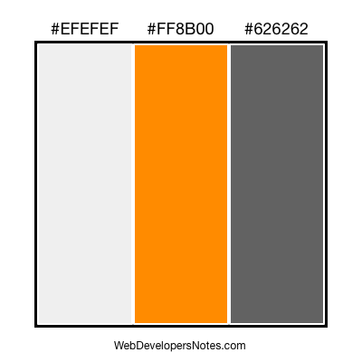 Web site colour combination #60