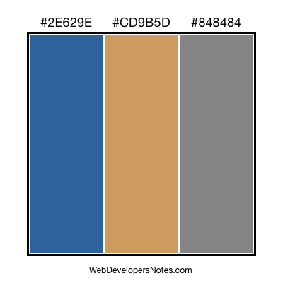 Web site colour combination #61