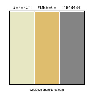 Brown color combination #076