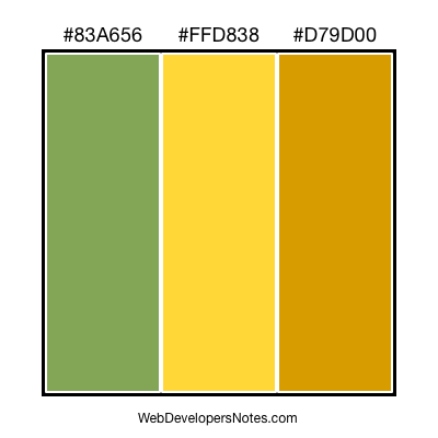 Color chart #003