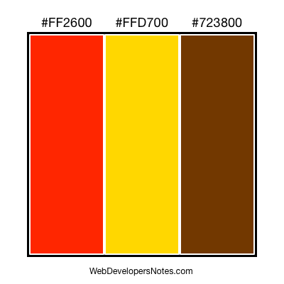 Color chart #010