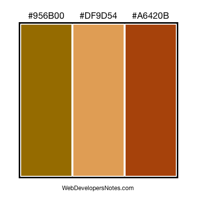 Color chart #012