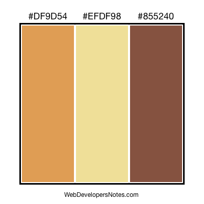 Brown color combination #013