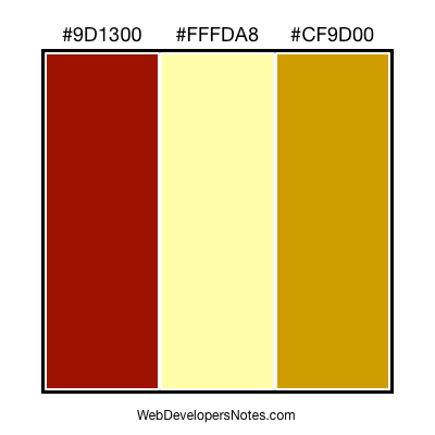 Color chart #014