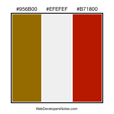 Color chart #015