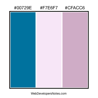 Color Combination #306