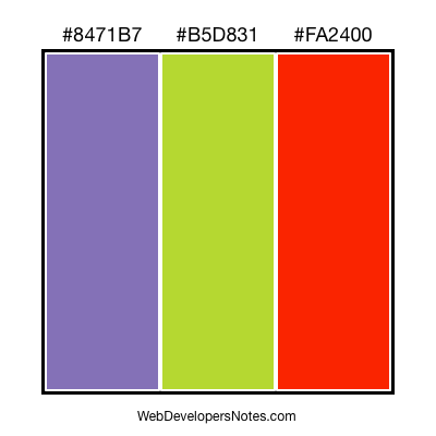 Free color combination #002