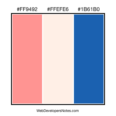 Free color combination #005