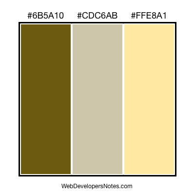 Free colour combination #012