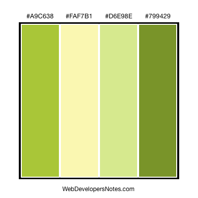 Fresh Green Colors