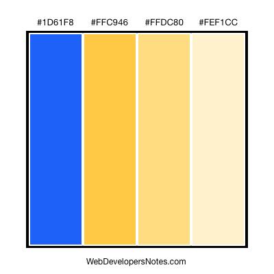 Happy color combination