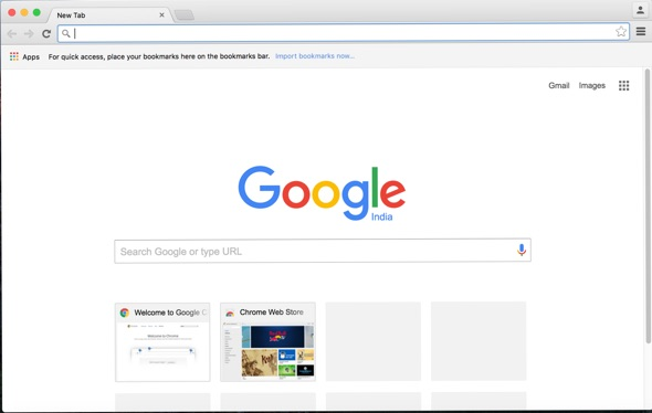 Chrome browser window