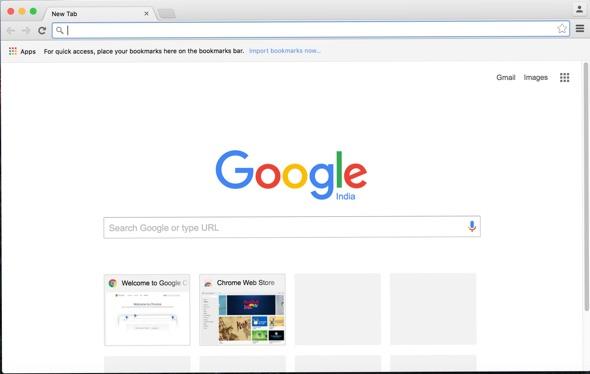 Chrome browser window