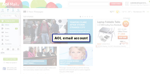 Your email account
