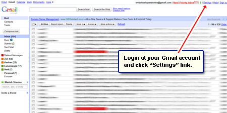 how to change your gmail email password