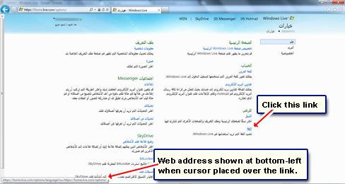 how to change wikipedia language to english