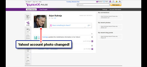 The Yahoo photo is now changed