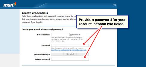 How To Get A Free Msn Email Address