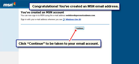 how to delete msn email account