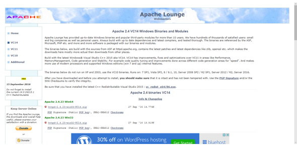 How To Install Apache On Windows 10 How to install Apache
