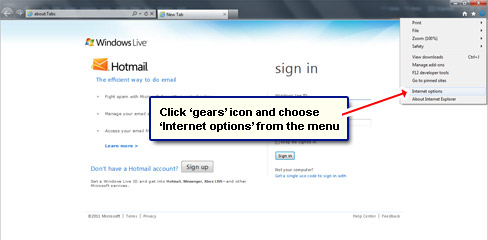 Login automatically to email account - how to instructions