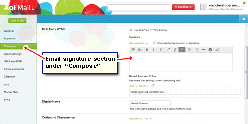 what to include in email signature