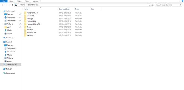 Folder is created