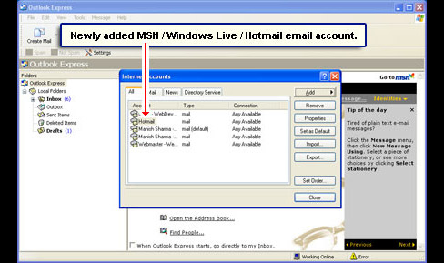 Hotmail Msn Email