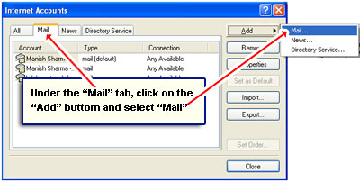 Adding a new Gmail account to Outlook Express