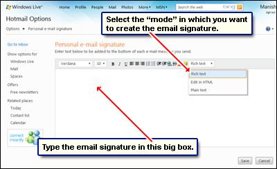 creat e mail