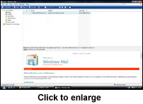 Windows Mail interface and layout - thumbnail