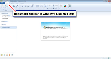 wlm toolbar