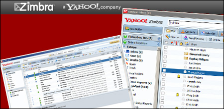 Download Yahoo email for free using the Zimbra desktop free Yahoo email program