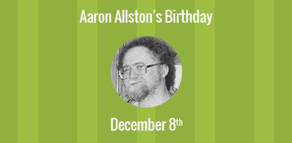 Aaron Allston Birthday - 8 December 1960