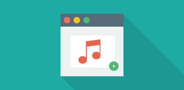 Add music to your web site – iLike.com songs playlist