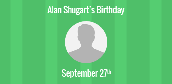 Alan Shugart Birthday - 27 September 1930