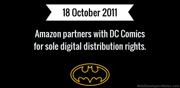 Amazon-DC Comics partnership