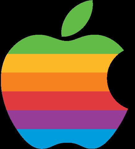 Apple's rainbow logo